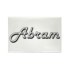 Abram Classic Style Name Magnets