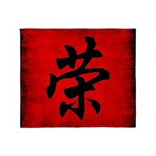 Honor Symbol Throw Blanket
