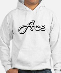 Ace Classic Style Name Jumper Hoody