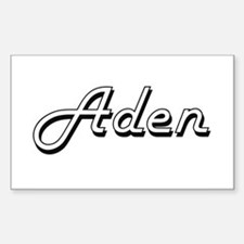 Aden Classic Style Name Decal