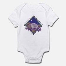 Cute Armadillo Western Scene Infant Bodysuit
