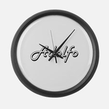 Adolfo Classic Style Name Large Wall Clock