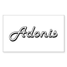 Adonis Classic Style Name Decal