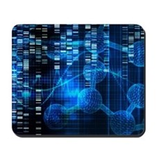 Genetic Science Research Mousepad