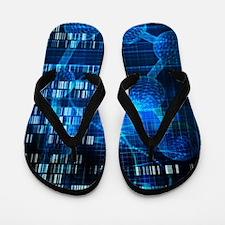 Genetic Science Flip Flops