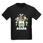 Schaven Family Crest Kids Dark T-Shirt