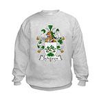 Schaven Family Crest Kids Sweatshirt