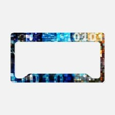 Digital Image Background License Plate Holder