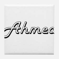 Ahmed Classic Style Name Tile Coaster