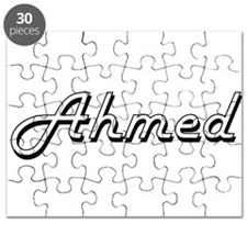 Ahmed Classic Style Name Puzzle