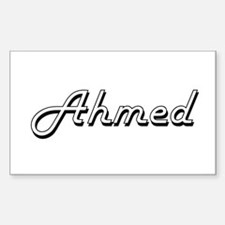 Ahmed Classic Style Name Decal