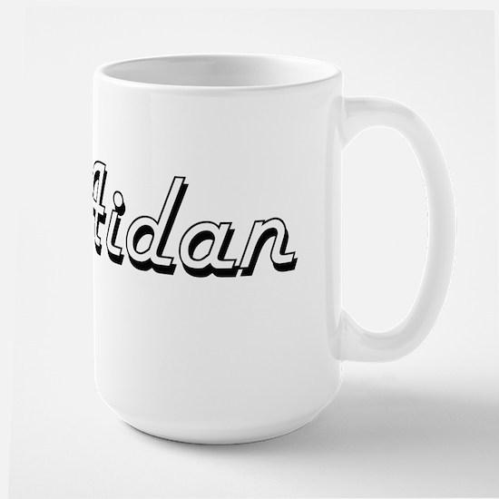 Aidan Classic Style Name Mugs