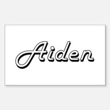 Aiden Classic Style Name Decal