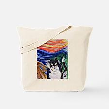 Kitty Scream Tote Bag