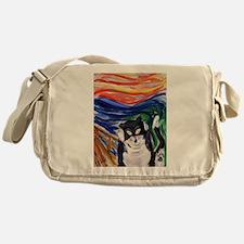 Kitty Scream Messenger Bag