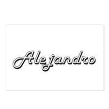 Alejandro Classic Style N Postcards (Package of 8)