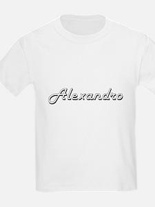 Alexandro Classic Style Name T-Shirt