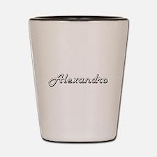 Alexandro Classic Style Name Shot Glass
