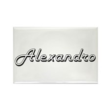 Alexandro Classic Style Name Magnets