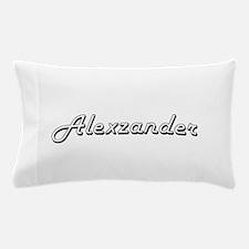 Alexzander Classic Style Name Pillow Case
