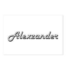 Alexzander Classic Style Postcards (Package of 8)