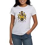 Schauer Family Crest Women's T-Shirt