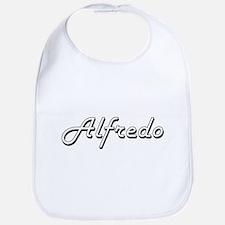 Alfredo Classic Style Name Bib