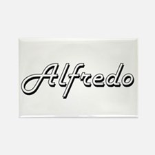 Alfredo Classic Style Name Magnets