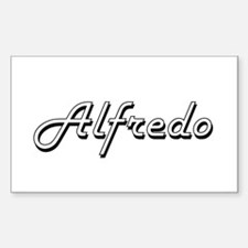 Alfredo Classic Style Name Decal