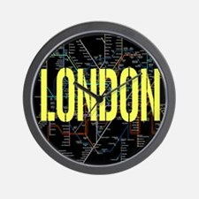 London Tube Wall Clock
