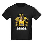 Schauer Family Crest Kids Dark T-Shirt