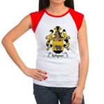 Schauer Family Crest Women's Cap Sleeve T-Shirt