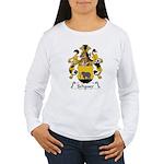 Schauer Family Crest Women's Long Sleeve T-Shirt