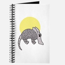 Cute Little Armadillo Journal