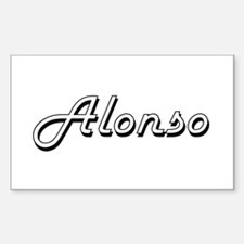 Alonso Classic Style Name Decal