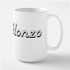 Alonzo Classic Style Name Mugs