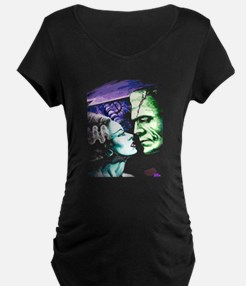 Bride And Frankenstein T-Shirt
