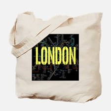 London Tube Tote Bag