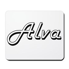 Alva Classic Style Name Mousepad