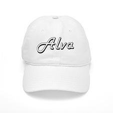 Alva Classic Style Name Baseball Baseball Cap