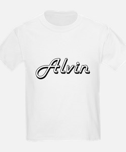Alvin Classic Style Name T-Shirt