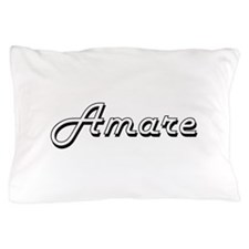 Amare Classic Style Name Pillow Case