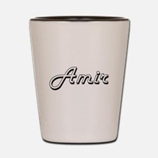 Amir Classic Style Name Shot Glass