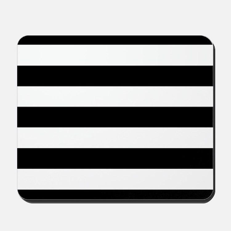 White Black Stripes Home Accessories Unique Home