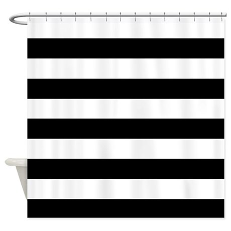 Black U0026 White Stripes Shower Curtain