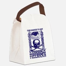From Darkness to Light Canvas Lunch Bag