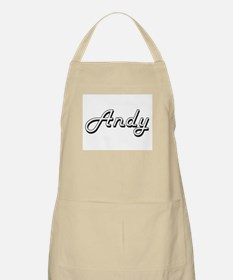 Andy Classic Style Name Apron