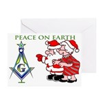 Masonic S&C Tree Greeting Cards (Pk of 20)
