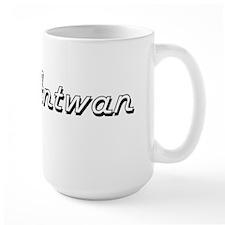 Antwan Classic Style Name Mugs