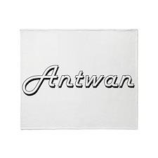 Antwan Classic Style Name Throw Blanket